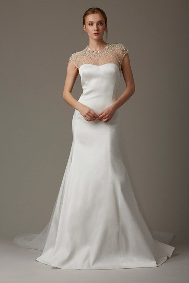 d30270f019c 70 Sparkly Wedding Dresses for the Glamorous Bride