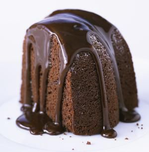 Sauerkraut in a Chocolate Cake? It's Easy and Has Cream Cheese Frosting.: Chocolate Bundt Cake