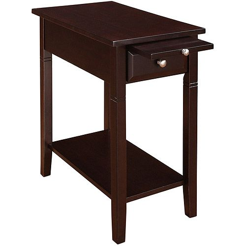 New Visions by Lane Easton Recliner Side Table Espresso