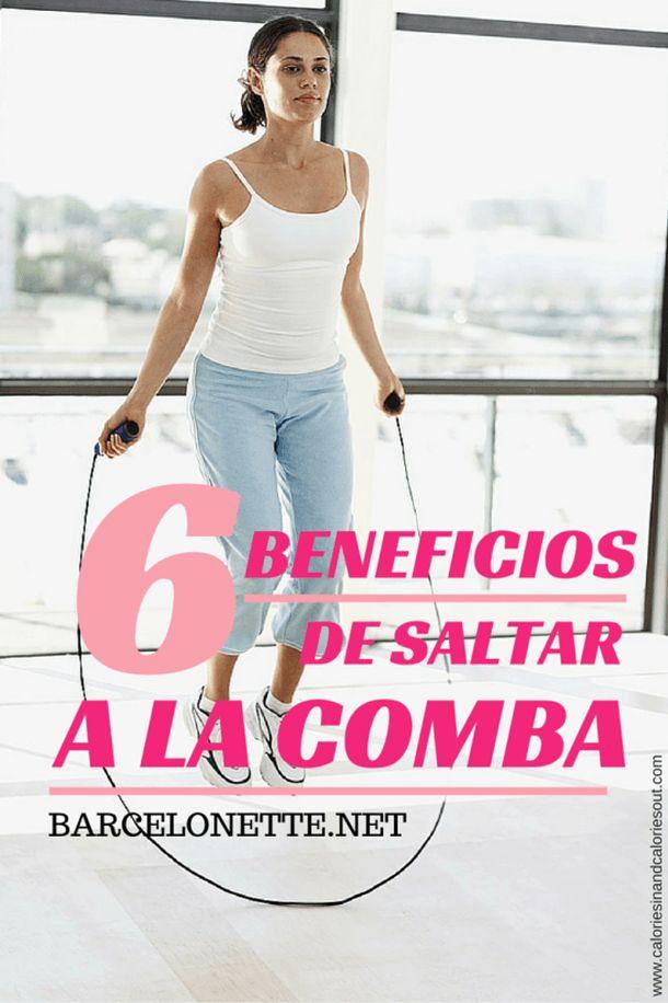 beneficios de saltar a la cuerda y tabla de ejercicios