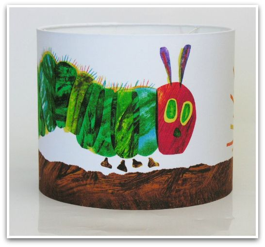 Very hungry Caterpillar- our most popular kids' lampshade!