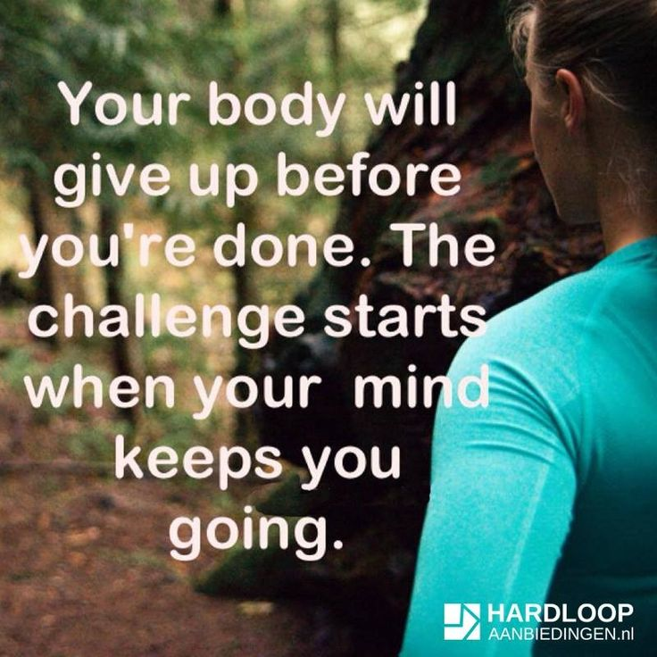 I need to remember this as I slowly keep training for a 5K while dealing with shin splints.