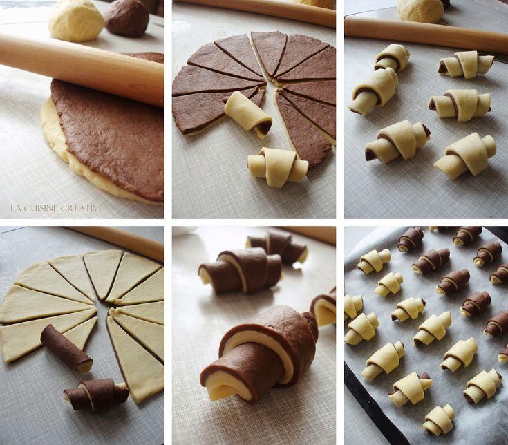 Kako napraviti slatke šarene kiflice