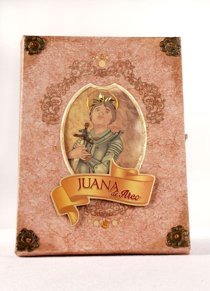 Libro ilustrado Juana de Arco