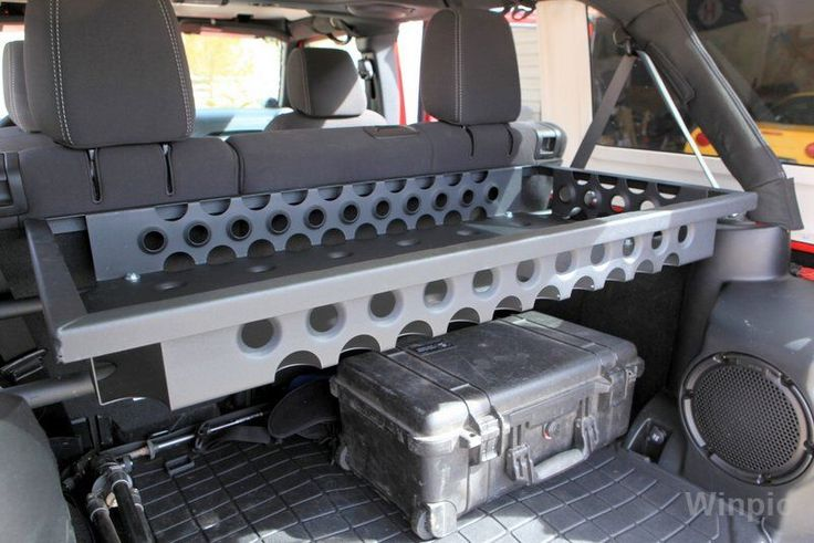 Ace Manufacturing Rear Cargo Basket For Jeep Jk Jeep