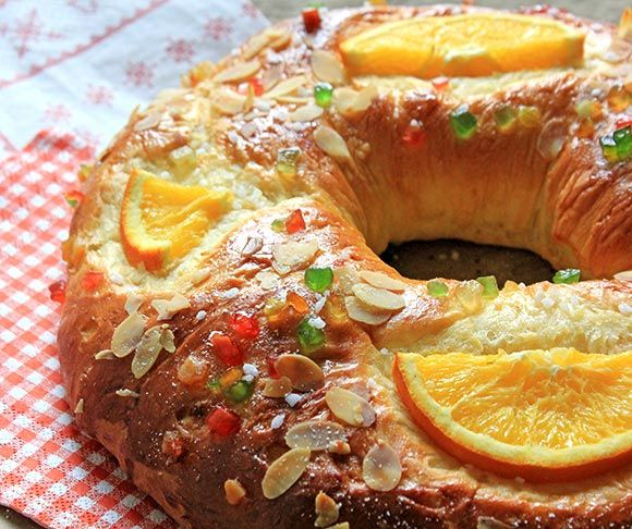 Receta de Roscón de Reyes casero