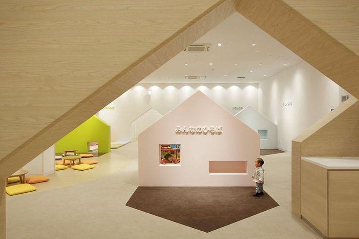 26/05/2015 - Mama smileè un 'parco giochi' al coperto progettato da Emmanuelle Moureaux all'interno di un centro commerciale