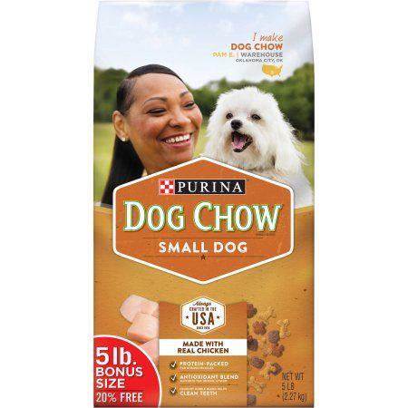 Purina Dog Chow Small Dog Dog Food, 5 lb Bag