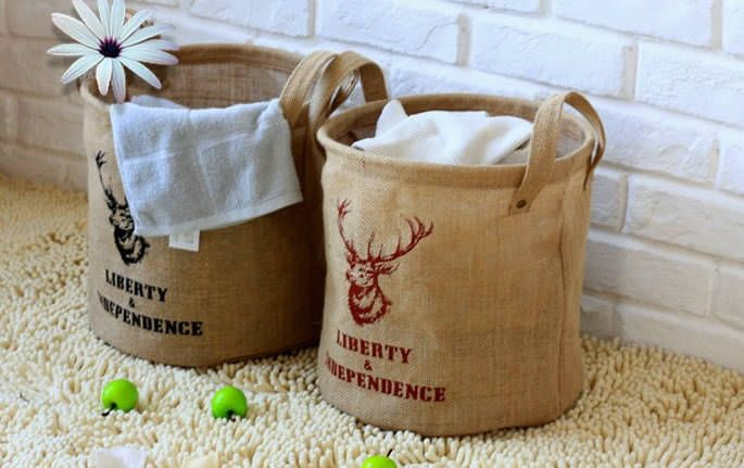 Подушки и сумки-мешки из мешковины с принтами.. Обсуждение на ...
