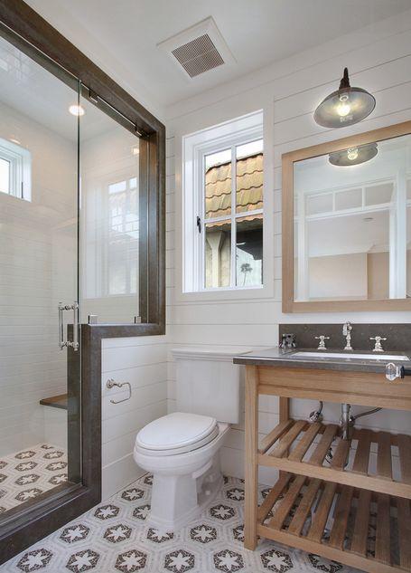 À la recherche d'idées pour revamper votre salle de bain? Découvrez 16 idées pour votre future salle de bain décor nautique !