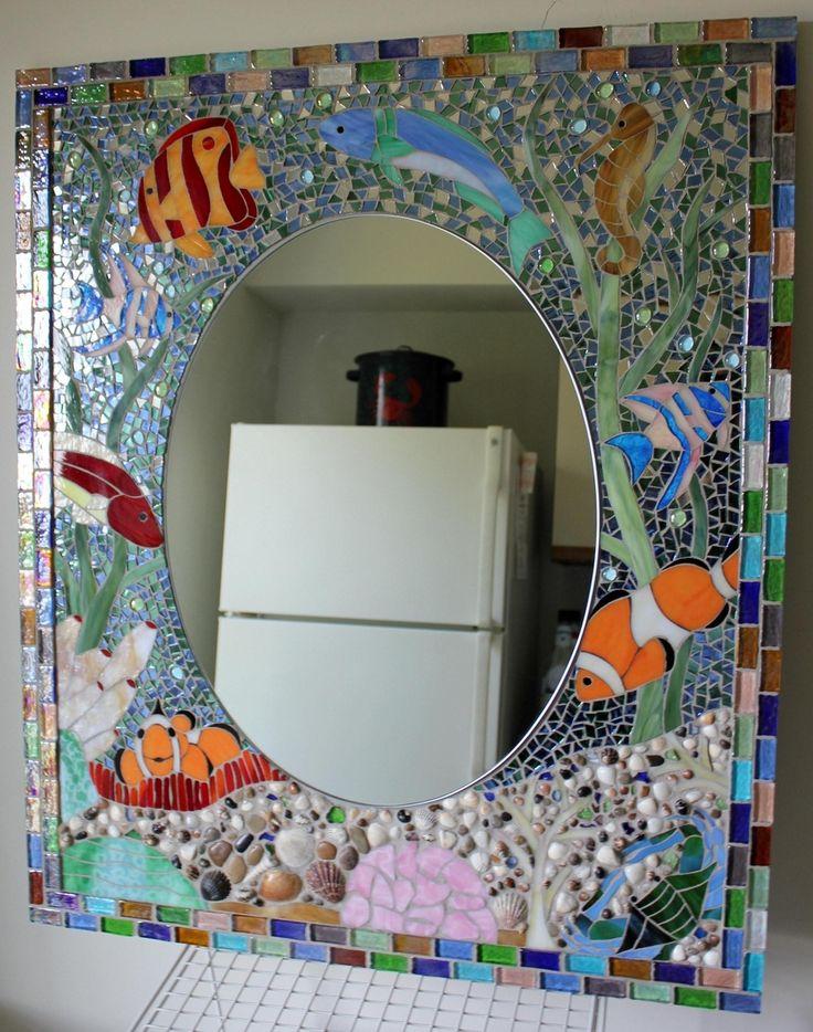 Ocean Reef Bathroom Vanity Mirror The Girls Bathroom