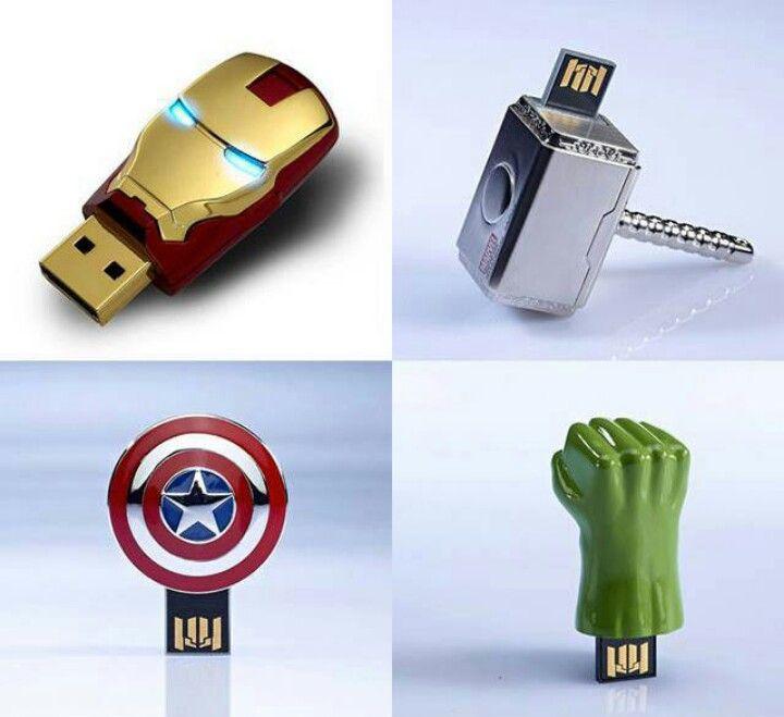 Avengers USB keys