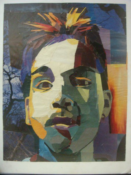 art projects for high school portrait - Google Search