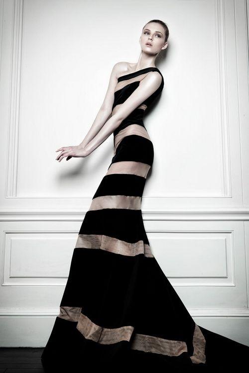 Gemma Arterton in Celia Kritharioti Haute Couture 2013, Worn at the 2013 BAFTA Awards in London | urbansybaris