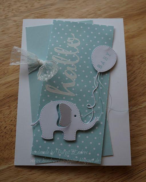 card critters elephant balloon balloons Rayher elephant die set  - HandWerk aus Papier