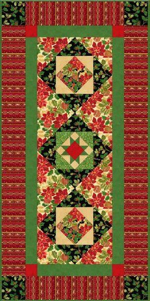 Holiday Classics Table Runner