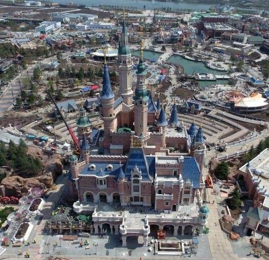 Storybook Castle, Shanghai Disneyland