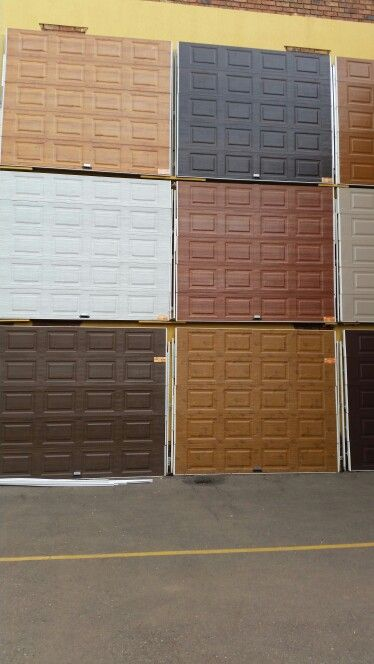 Galvanised Powder Coated Garage Doors Kingdom Doors