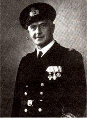 Carl Westermann, MF, kommandørkaptajn, chef for NIELS IUEL