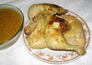 W Mojej Kuchni Lubię.. : szybkowar-uda kurczaka w sosie czosnkowym...
