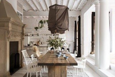 Binnenkijken in een romantisch industrieel appartement in Barcelona