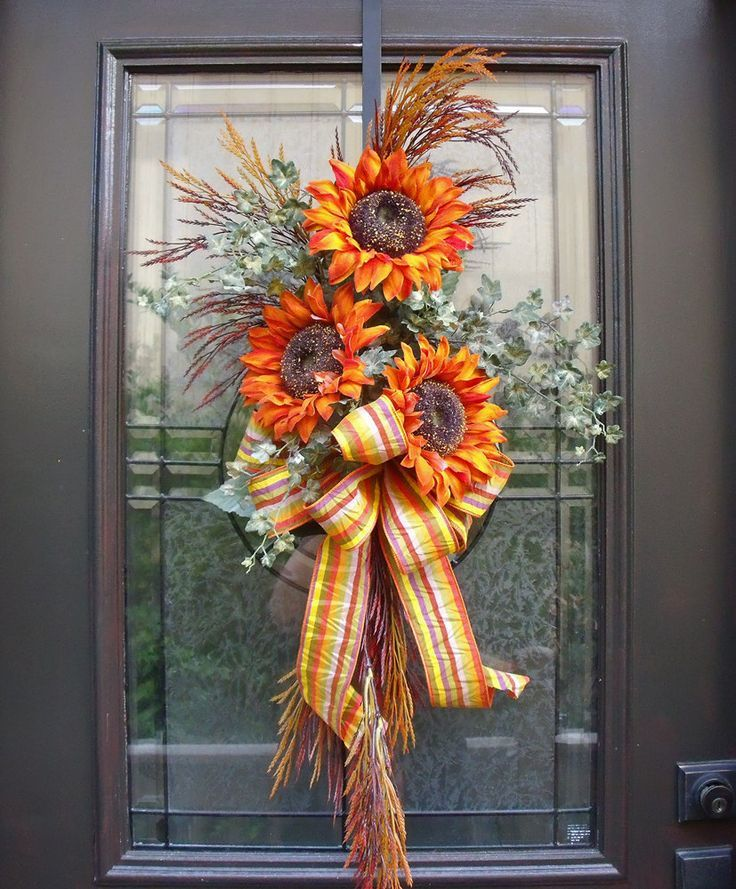 Fall Door Wreath Ideas Part - 26: Easy U0026 Cheap DIY Fall Decor Ideas You Need To Try