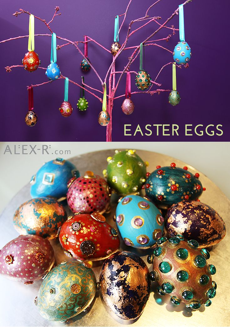 Easter Eggs #colour #easter #BejewelYourHome alex