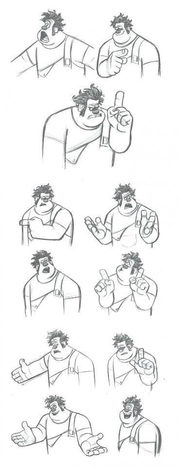 wreck-it ralph concept art
