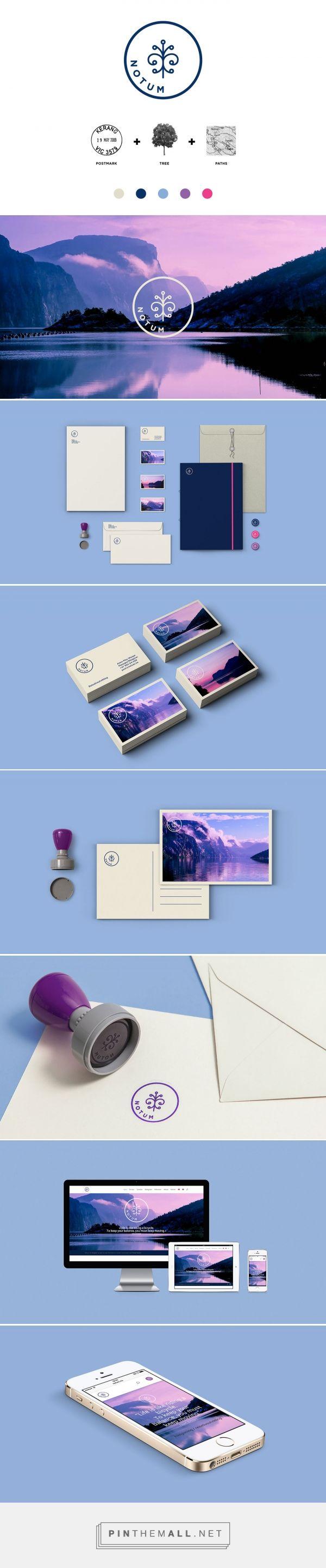 Notum, tour operation company / branding and design by Daniel Brokstad