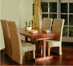 TUTORIAL - DIY dining set - site has other great tutorials, too