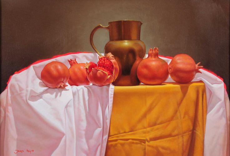 Dorados. Oleo sobre lienzo. 35 x 50cm. 2012.