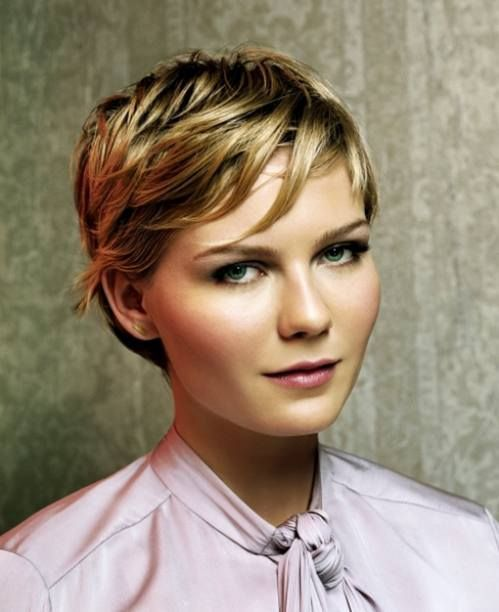 Short Hair: Kirsten Dunst