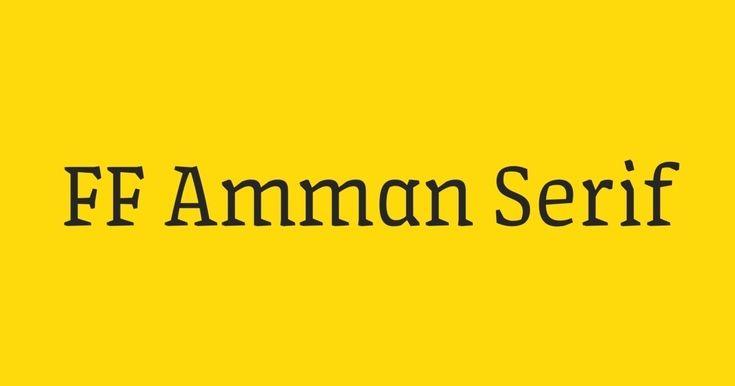 FF Amman Serif