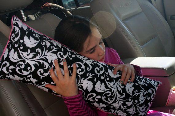 Seat Belt Pillow -- Travel Pillow