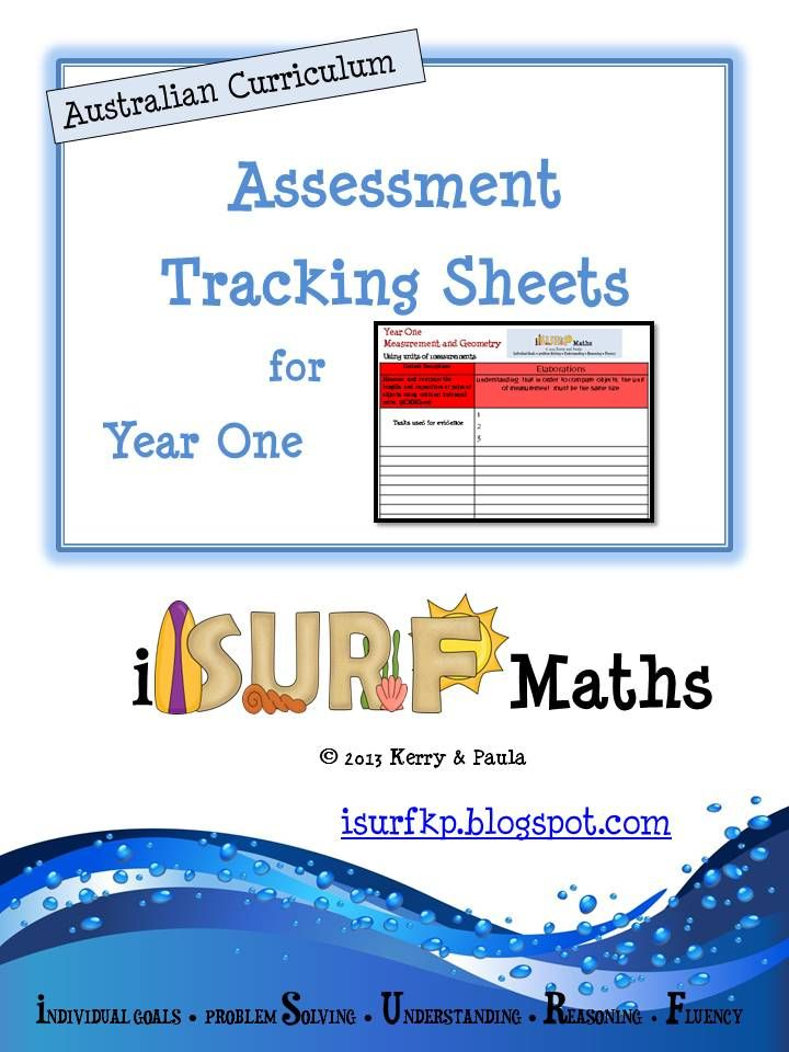 Tracking at Year One Level