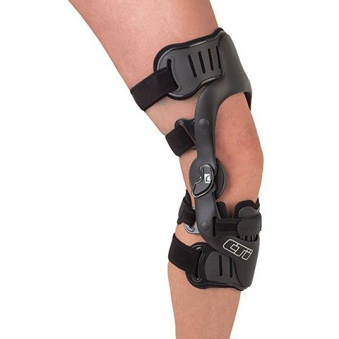 CTi® OTS The proven technology of the classic CTi knee brace is available with off-the-shelf convenience. Outfitted with anatomicallycorrect...