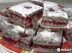 Tento šťavnatý Makovo třešňový koláč se stane vaším celoročním favoritem