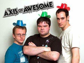 The Axis of Awesome UK tour 2014 starting in September...I love these guys