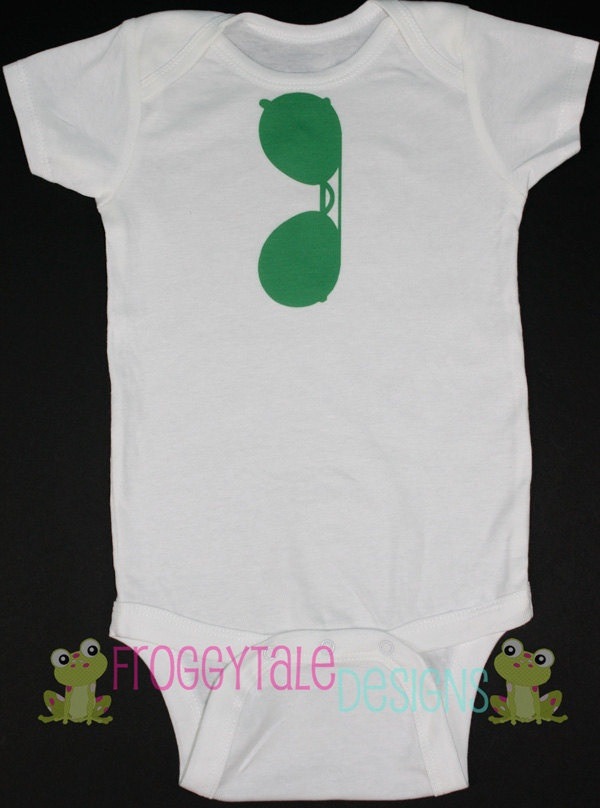 Boys Aviator Sunglasses Bodysuit Onesie YOU CHOOSE COLORS For Little Baby Boys- Adorable Baby Shower Gift. $11.95, via Etsy.
