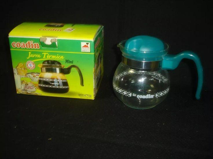mini jarra vidrio termica coadin en su caja original (1250)f