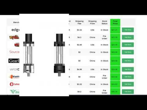 Promotion for Image of Aspire Cleito 120 Atomizer - YouTube