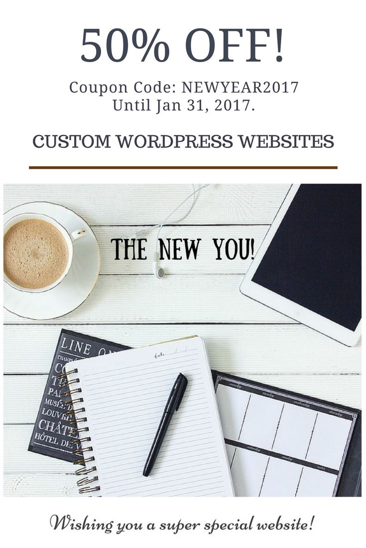 Need online presence? Don't miss this offer! 50% OFF!