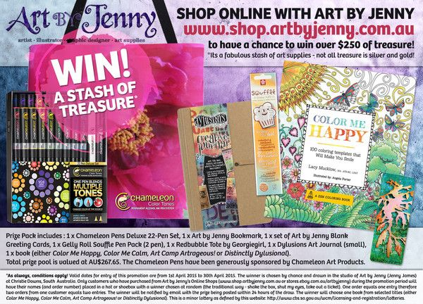 Mother's Day Promotion 2015 - Closed - The Details | Art Supplies for Creative Minds | Mixed Media, Art Journaling, Drawing and Painting | Art by Jenny Online Shop
