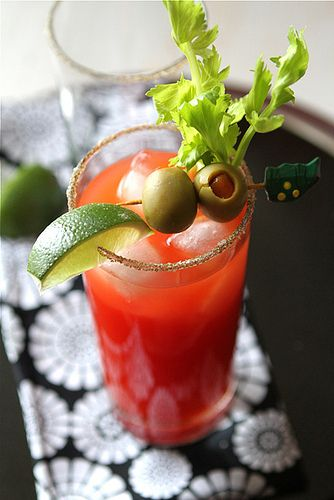 "Caesar ... ""a drink reminiscent of my wayward twenties and several queasy morning-afters"""