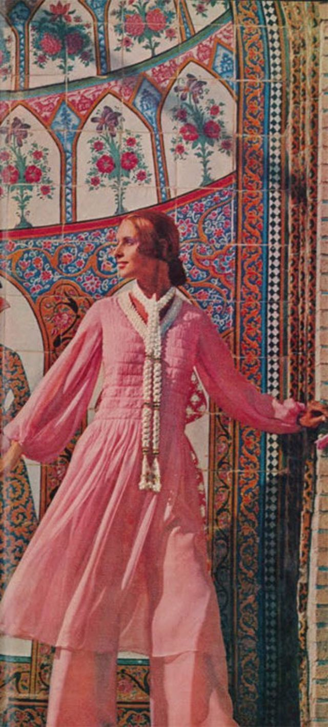 These 40 Glamorous Shots from 1970s Fashion Magazines Reveal How Iranian Women Dressed Before the Islamic Revolution