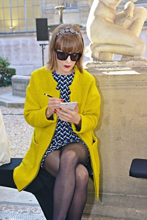 La Paris Fashion Week by madame Figaro et le smartphone Xperia Z Ultra de Sony