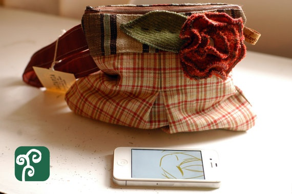 Earthy Colored Pouch by BataviaBySil on Etsy, $28.00