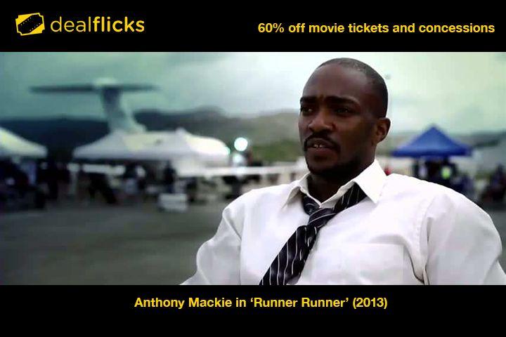 Anthony Mackie in 'Runner Runner' (2013)