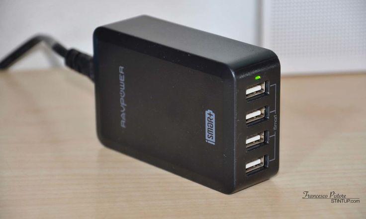 RAVPower iSmart 40W RP-UC07 con 4 porte USB | Recensione