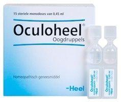 Verzorg de ogen en het bindvlies met oogdruppels van Oculoheel.